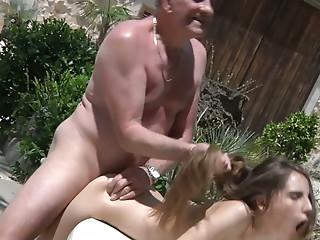 Tina tricks old man for sex