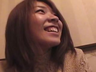 Shy chick Nagisa Matsuyama masturbates after karaoke