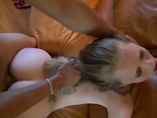 Autumn Lee & Madison Chandler big ass blonde sluts fucked doggystyle.