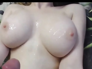 Huge Tits on Young Girlfriend