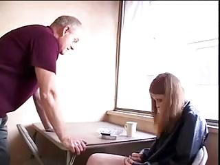STP Redhead Fucks To Calm Daddy Down !