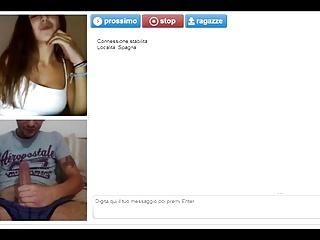 A horny teen like watch me maturbate on webcam random chat
