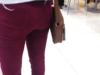 Teen tight ass, culito de teen in jeans