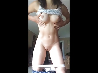 Hot Teen Stripping