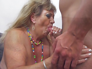 Bigtit granny and mom fuck fresh meat
