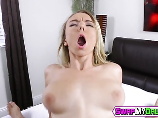 Molly Mae is getting that huge cock deep inside her pussy