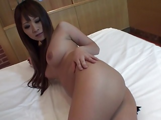 Subtitled uncensored Japanese gyaru hotel room body check HD