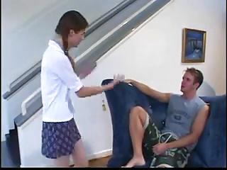 STP3 Teen Gets Gets Fucked When Her Boyfriend Turns Up !
