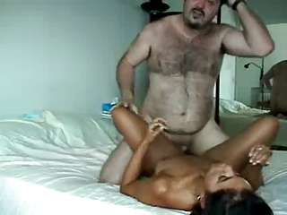 Fat Old Guy Fuck a Perfect Teen