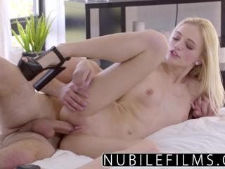 NubileFilms - Tiny Blonde Alex Grey Fucks Neighbors Husband