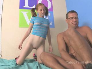 Alyssa Hart lets her stepdaddy cum inside her
