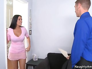 She�s quick to give him the next big thing...