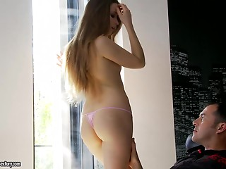 Bewitching Taissia Shanti Has Anal job With A Impure Stud