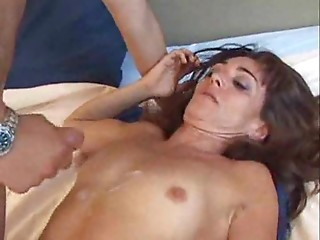 Pretty young slut twat receives screwed by a older 10-Pounder