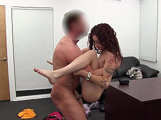 Gracious Backroom Sex with Wild Chubby Rod & Lascivious Sweetheart