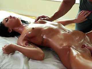 Ensuring she's all juicy and greatly slutty