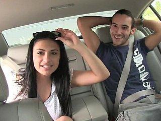 Some enjoyment in a car